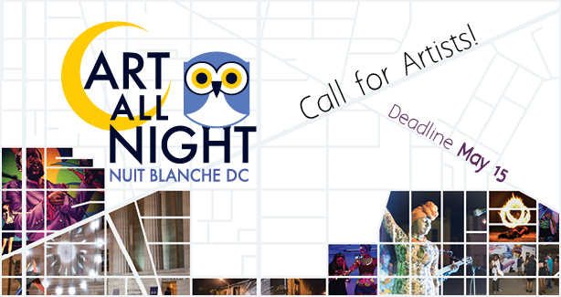 Art All Night: Nuit Blanche DC 2015 Call for Artists!