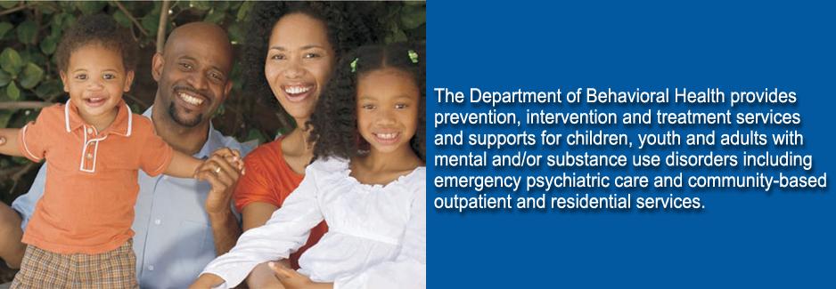 Department of Behavioral Health,