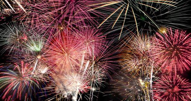 Image of fireworks display