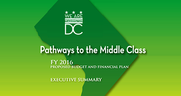 """Cover of a report reading """"Pathways to the Middle Class"""""""