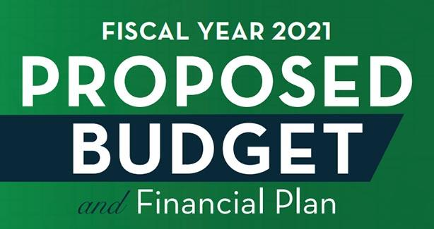 FY 2021 Proposed Budget and Financial Plan
