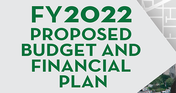 FY 2022 Proposed Budget and Financial Plan
