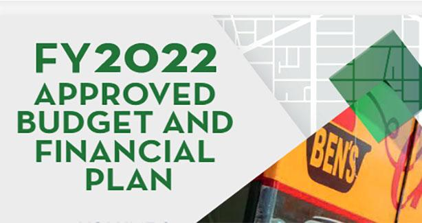 FY 2022 Approved Budget and Financial Plan