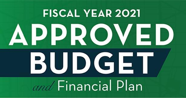 FY 2021 Approved Budget and Financial Plan
