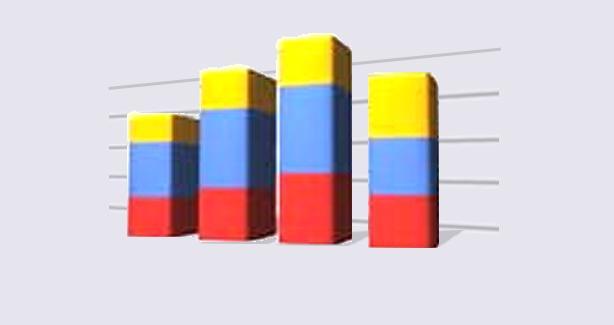 abstract illustration of bar chart