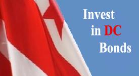 "Image with text that reads ""Invest in DC Bonds"""
