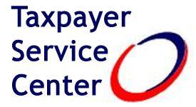 Taxpayer Service Center